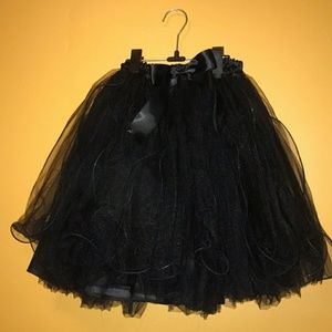 Black Tutu..Brand New..Adult Tutu XL